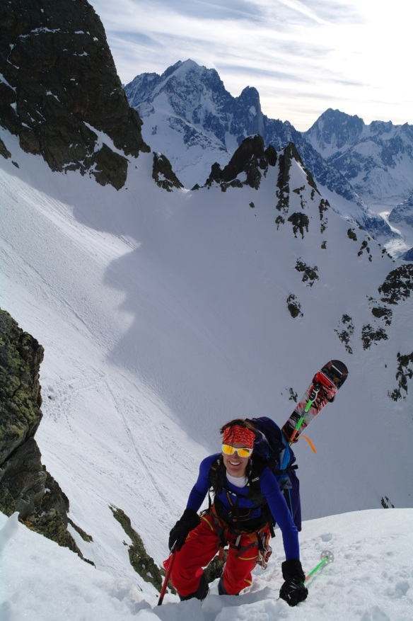 Aiguille Rouge Couloirs 03
