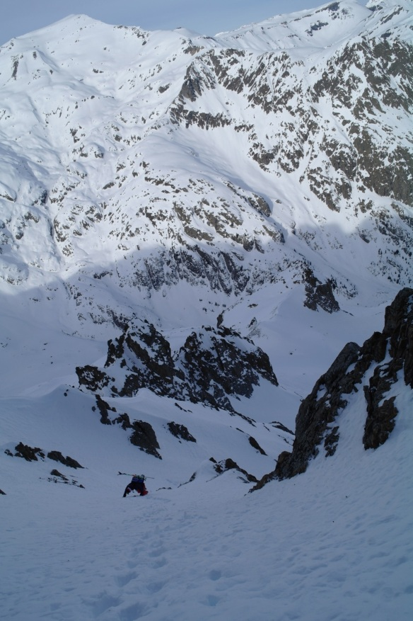 Aiguille Rouge Couloirs 09