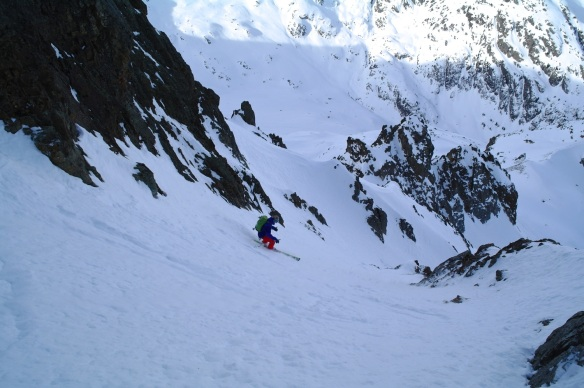 Aiguille Rouge Couloirs 11