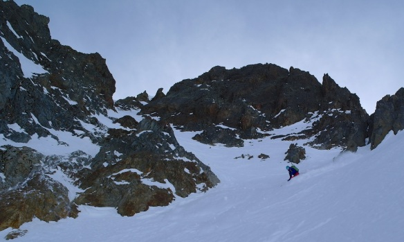 Aiguille Rouge Couloirs 12