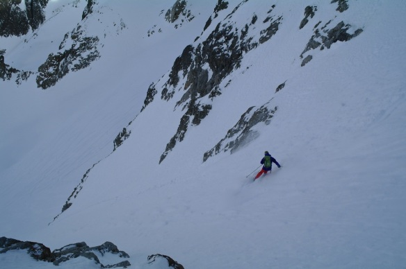 Aiguille Rouge Couloirs 13