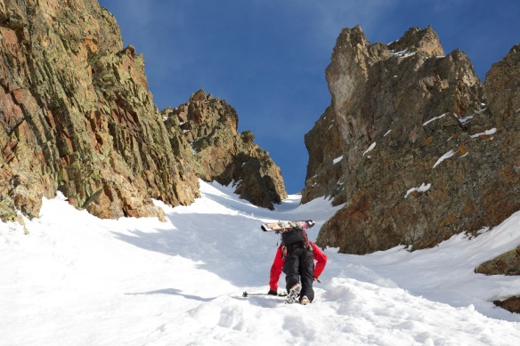 Aiguille Rouge Couloirs 203