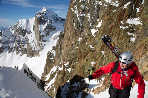 Aiguille Rouge Couloirs 205