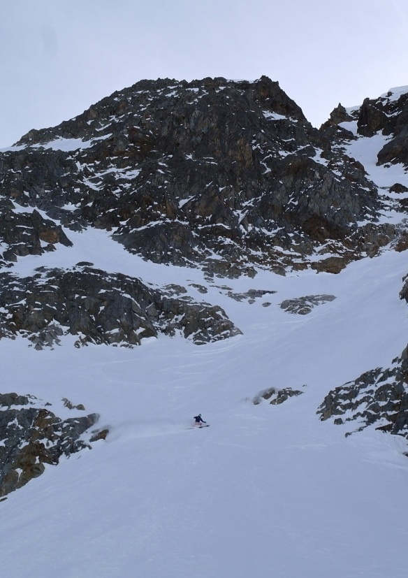 Aiguille Rouge Couloirs 21