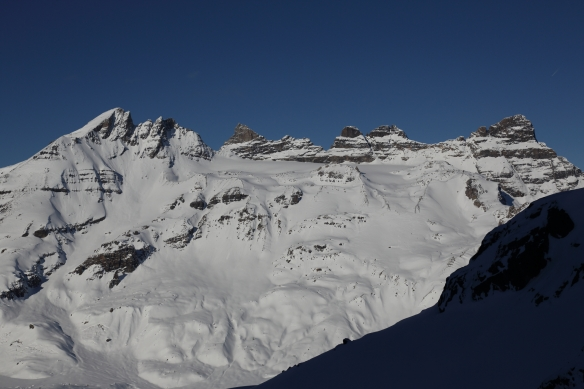 Les Dents du Midi South Face