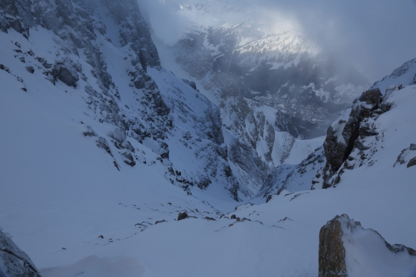 North West Couloir of the Dent Jaune