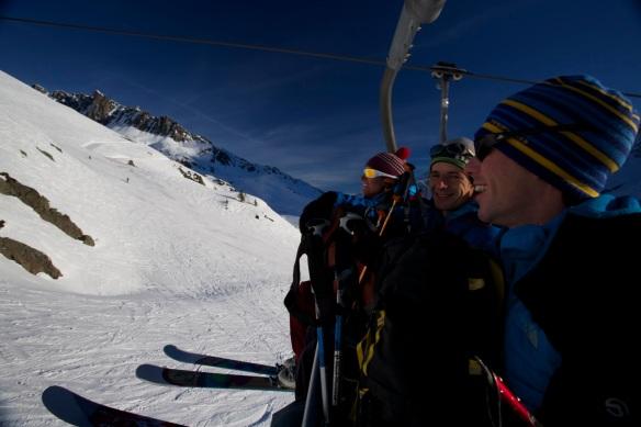 Michelle Blaydon, Max Turgeon and Andy Houseman 1