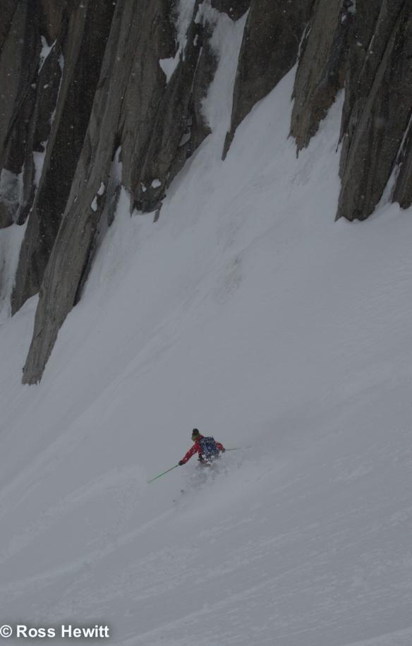 Michelle Blaydon in vallee blanche-2