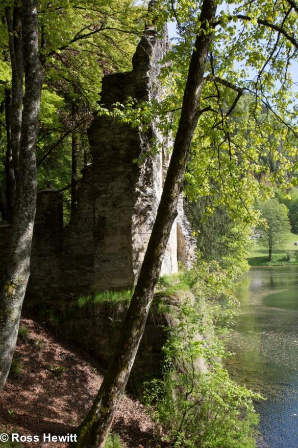 Ruins at Gaillands