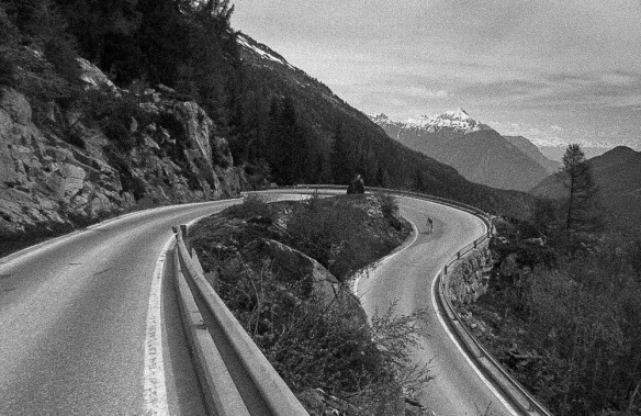 Chamonix to Emosson Dam road biking 4