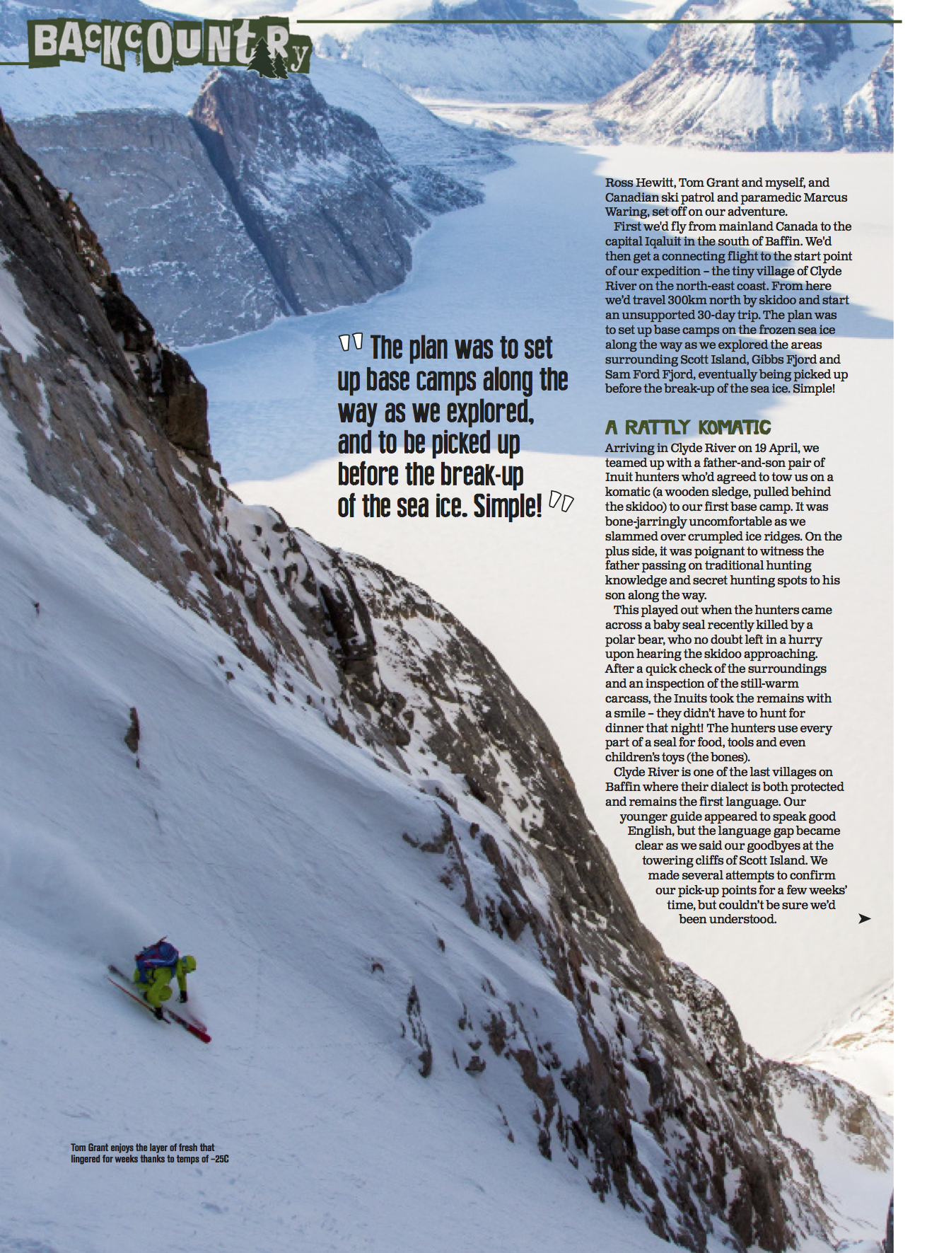 Publications ross hewitt fall line baffin fall line3 freerunsca Image collections