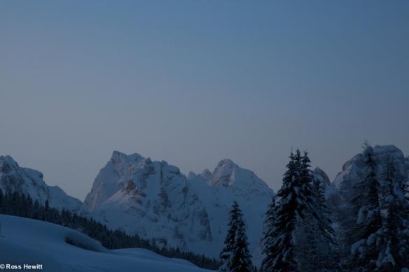 Dolomites ski