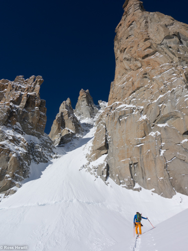 Col Diable Macho Couloir Tom Grant