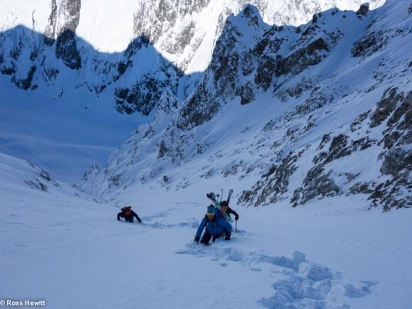 NE Couloir Petit Mt Blanc-4