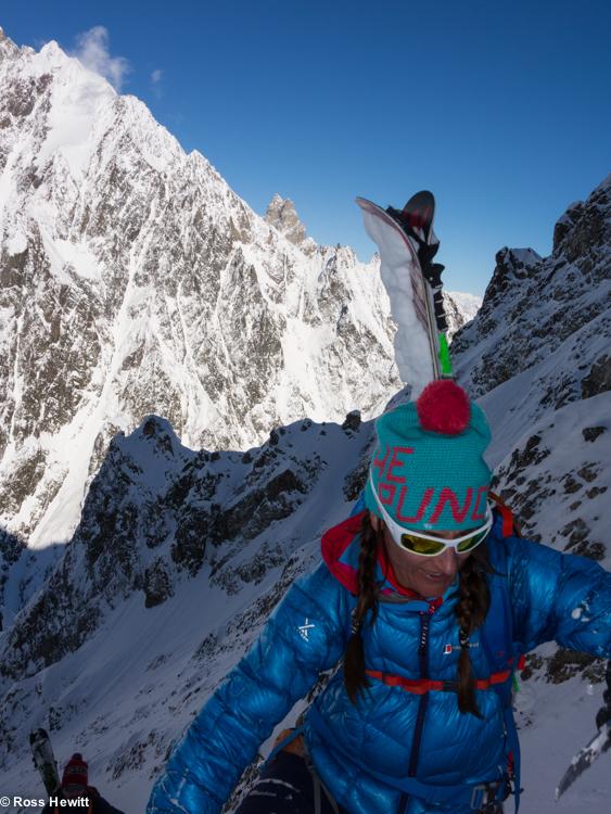 NE Couloir Petit Mt Blanc-5