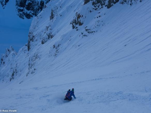 NE Couloir Petit Mt Blanc-9