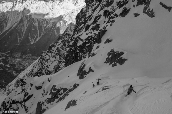 Chamonix skiing 2014-11