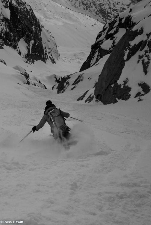 Chamonix skiing 2014-12