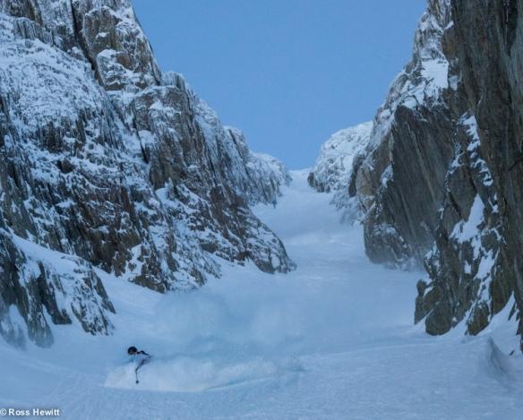 Chamonix skiing 2014-15