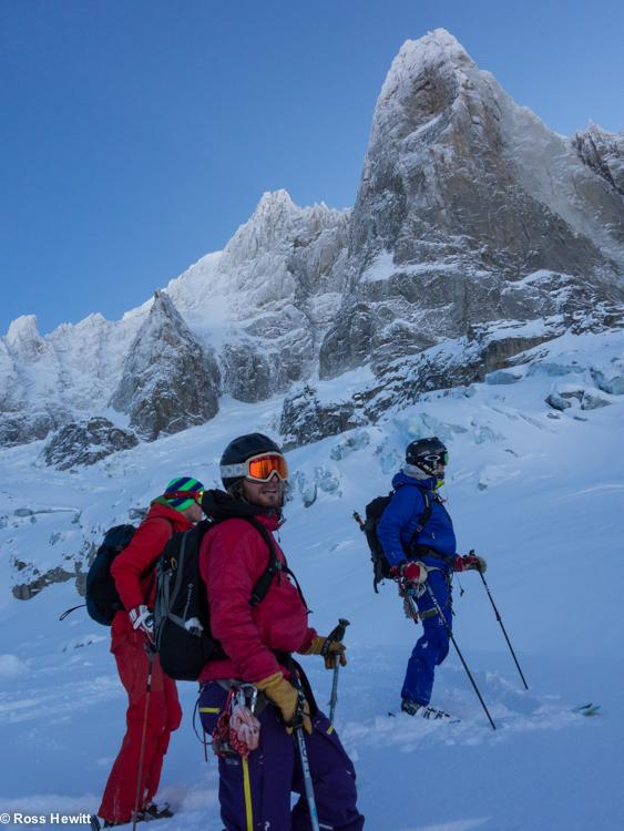 Chamonix skiing 2014-17