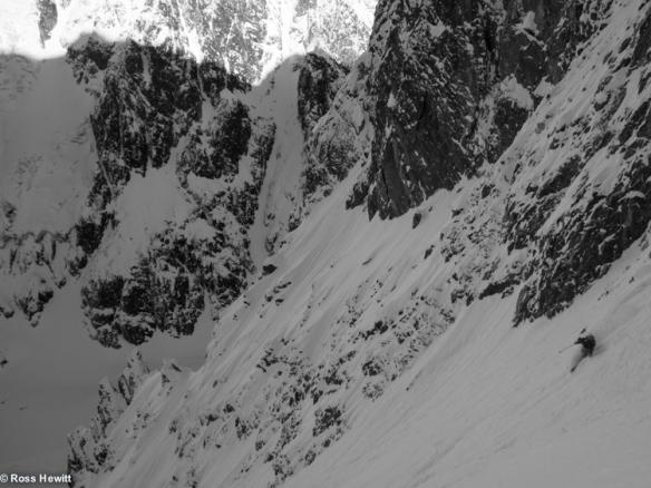 Chamonix skiing 2014-2-2
