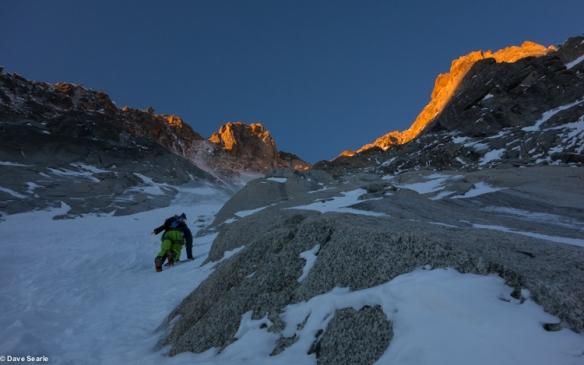 Chamonix skiing 2014-2-3
