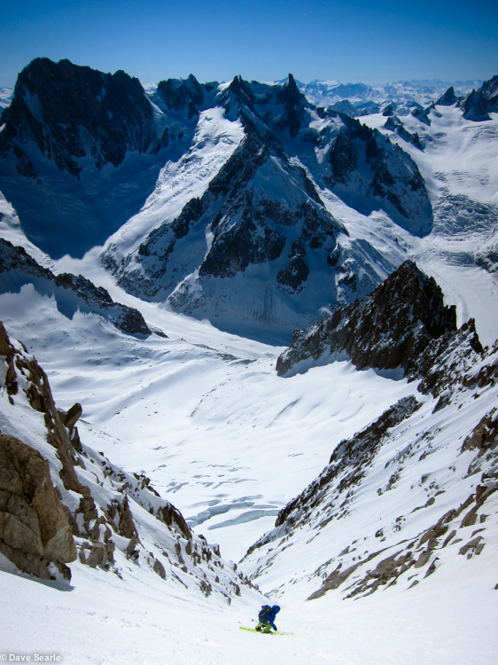 Chamonix skiing 2014-4-2