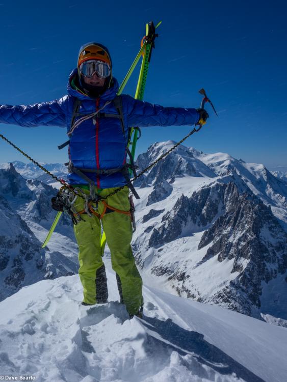 Chamonix skiing 2014-6-2