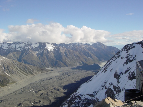 lower Tasman frm plateau