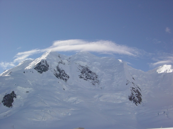 Mts Silberhorn and Tasman