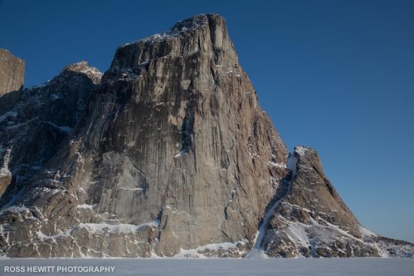 Baffin Broken Dreams Couloir Ross Hewitt topo-1