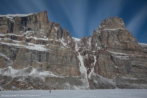 Baffin Island Gibbs Fiord couloir ski descent topo Ross Hewitt-1