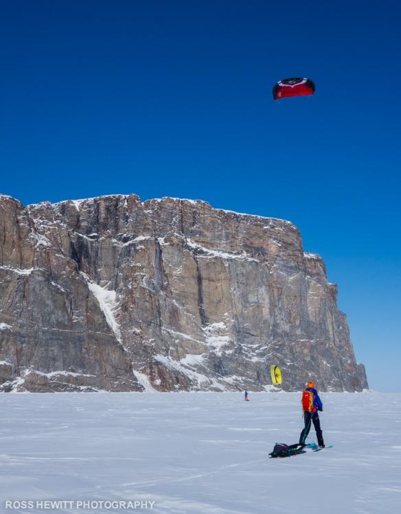 Baffin Island Scott Island Scott inlet couloir ski descent topo Ross Hewitt-1-2