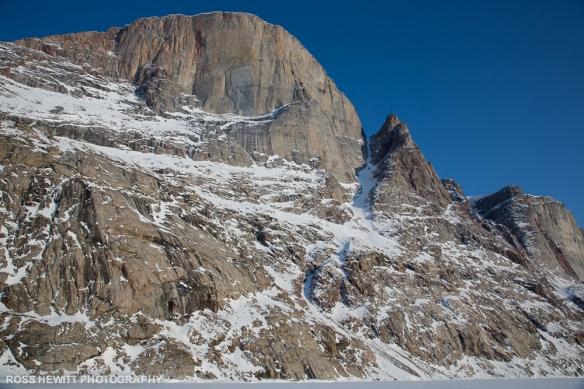 Baffin North west Passage Couloir ski descent topo Ross Hewitt-1