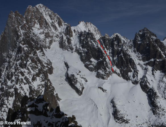 breche-nonne-eveque-ski descent-topo-ross hewitt