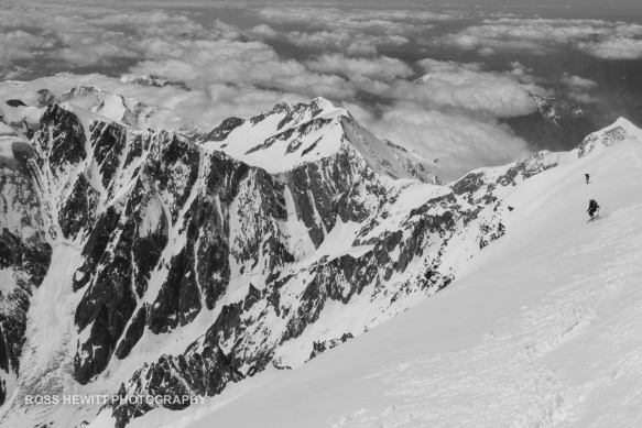 West Face Mont Blanc  Ross Hewitt Collection 14