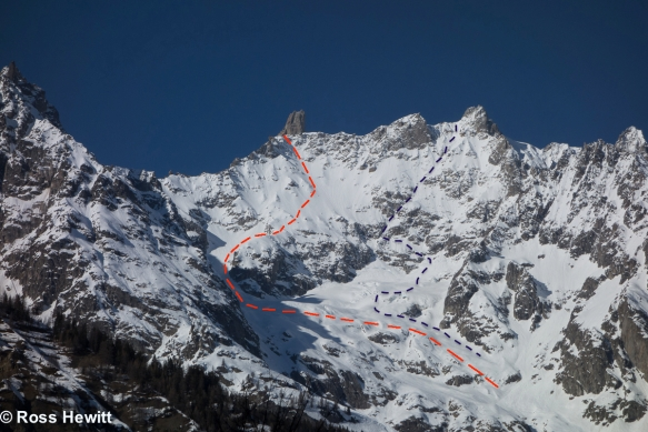 dent-de-geant-south-face-route