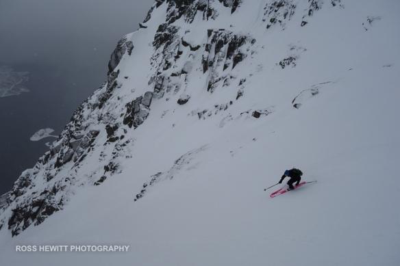 Lofoten Skiing Ross Hewitt Michelle Blaydon-101