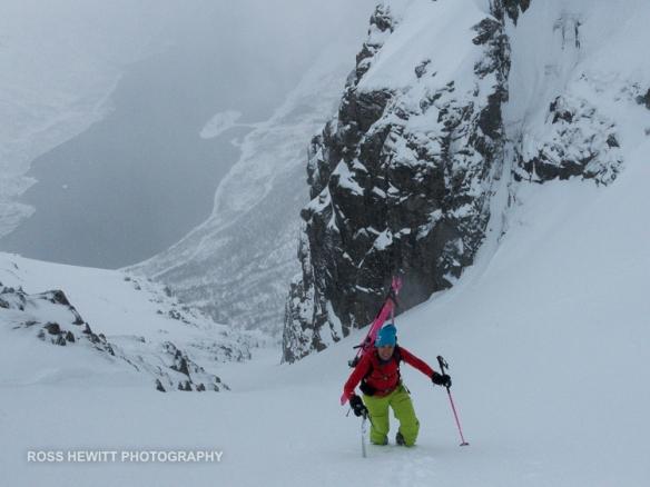 Lofoten Skiing Ross Hewitt Michelle Blaydon-105
