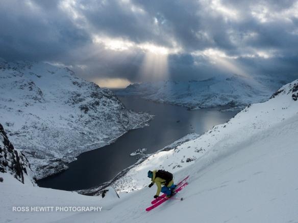 Lofoten Skiing Ross Hewitt Michelle Blaydon-133