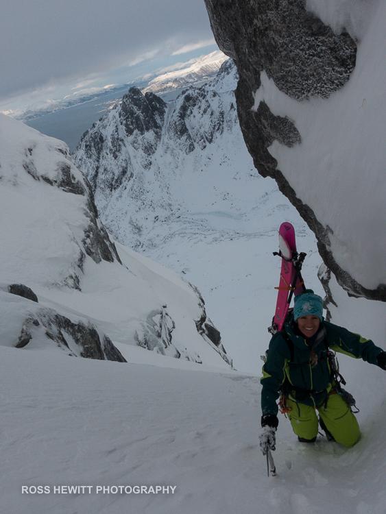 Lofoten Skiing Ross Hewitt Michelle Blaydon-39