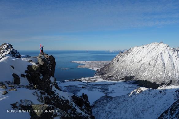 Lofoten Skiing Ross Hewitt Michelle Blaydon-51
