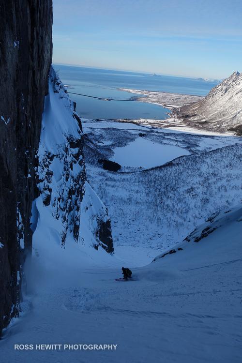 Lofoten Skiing Ross Hewitt Michelle Blaydon-58