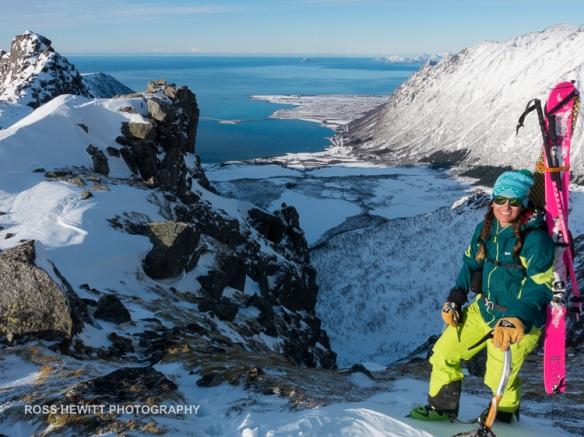 Lofoten Skiing Ross Hewitt Michelle Blaydon-82