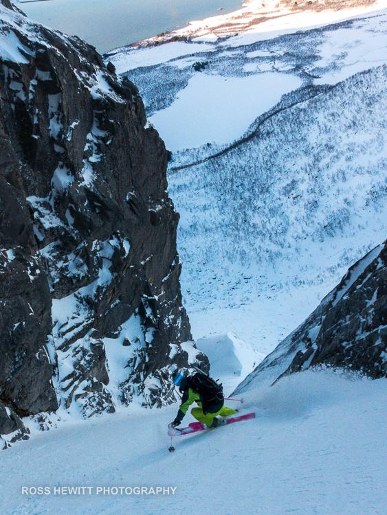 Lofoten Skiing Ross Hewitt Michelle Blaydon-87