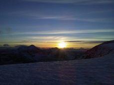 NW sunset