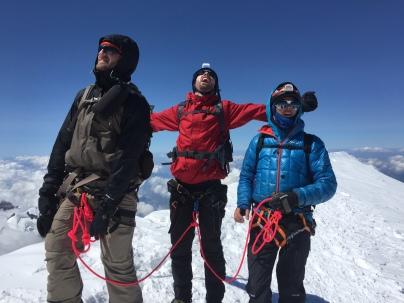 Ross Hewitt Mont Blanc Julbo Chamonix